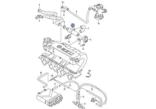 Клапан холостого хода AAF,ACU,AAC VDO 408-202-011-002Z