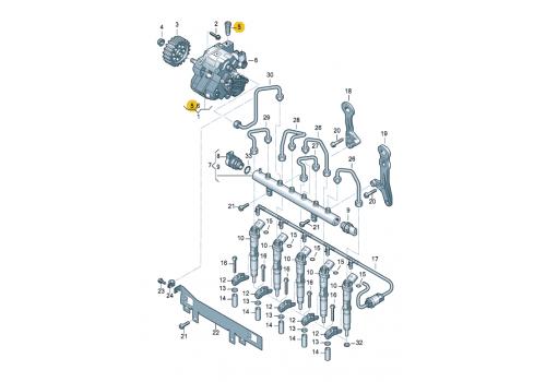 Перепускной клапан Bosch F00N200798