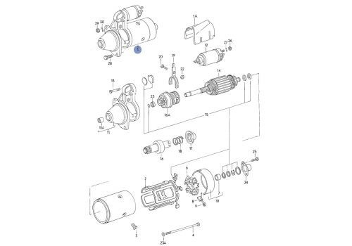 Стартер TESLA TECHNICS TT15857
