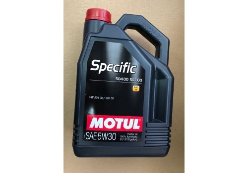Моторное масло MOTUL Specific 504.00 507.00 5W-30 5л