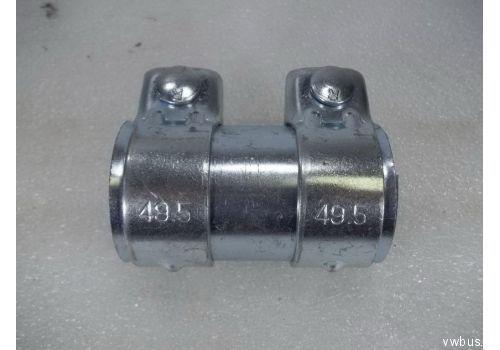 Соединительная труба с хомутами d=45,5 Tesh 430051