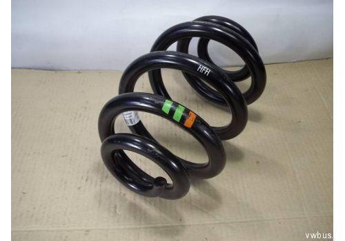 Пружина задняя метки: 2 зеленые или 2 зеленые 1 оранжевая VAG 7E0511115G