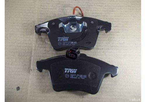 Колодки тормозные передние Фольксваген Т5 R16 с датчиком TRW GDB1555