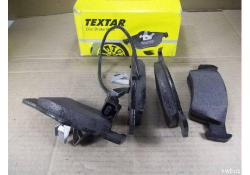 Колодки тормозные задние Фольксваген Т5 R16 с датчиком подвеска усиленная Textar 2436801