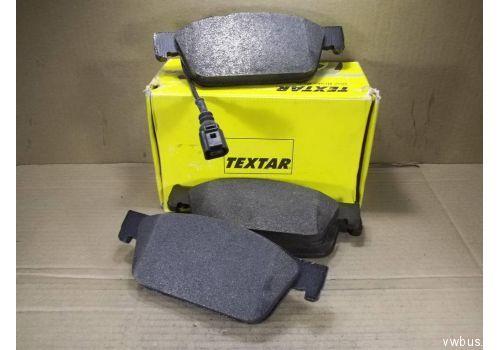 Колодки тормозные передние R17 Textar 2462301