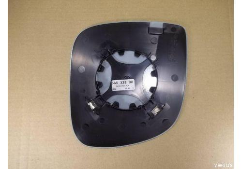 Стекло зеркала Фольксваген Т5 механическое лев. VAG 7E1857521E