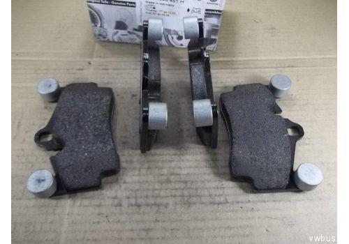 Колодки тормозные задние VAG 7L0698451G